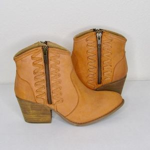 Musse & Cloud Äthyl Western Ankle Boots